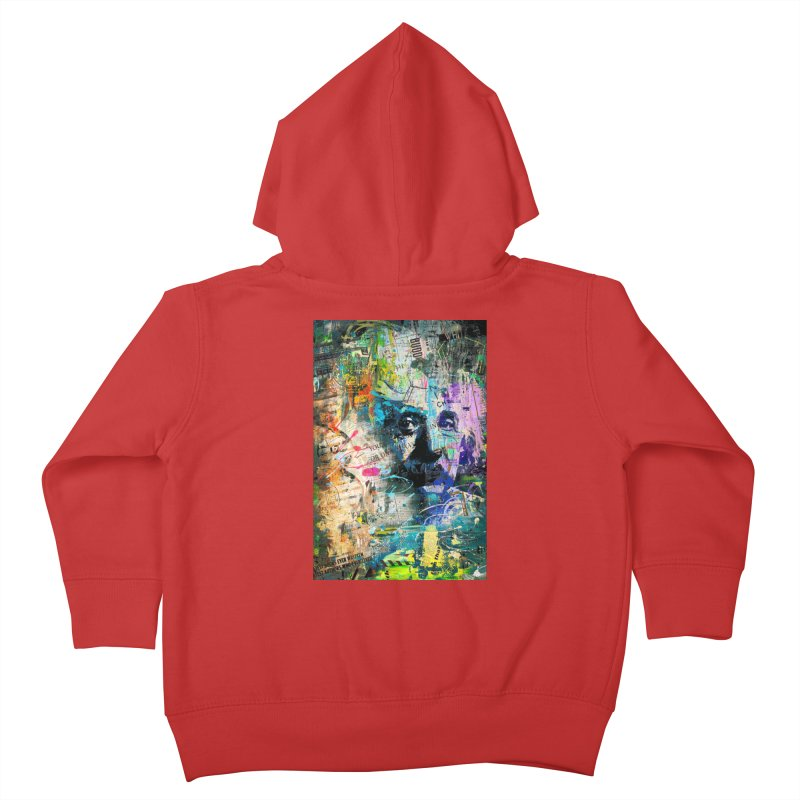 Artistic OI - Albert Einstein II Kids Toddler Zip-Up Hoody by Abstract designs
