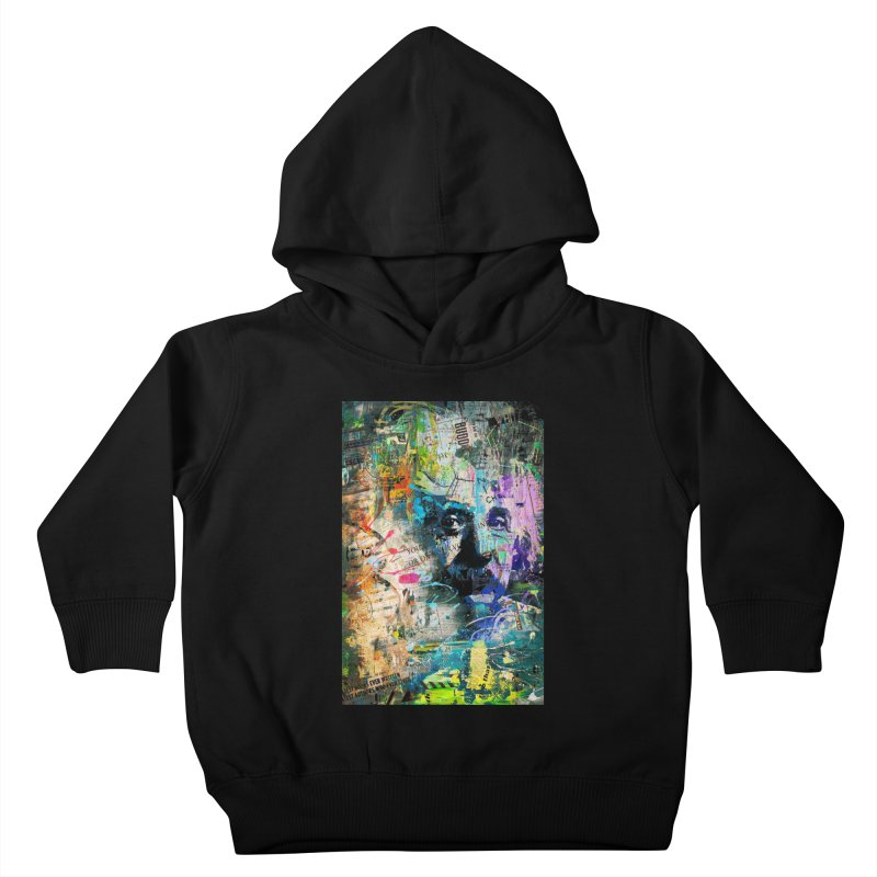 Artistic OI - Albert Einstein II Kids Toddler Pullover Hoody by Abstract designs