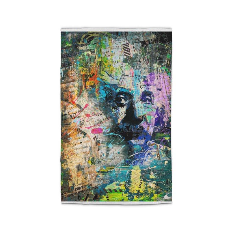 Artistic OI - Albert Einstein II Home Rug by Abstract designs