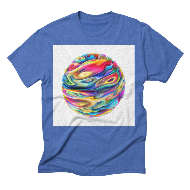 Chaos XII Men's Triblend T-Shirt by Abstract designs