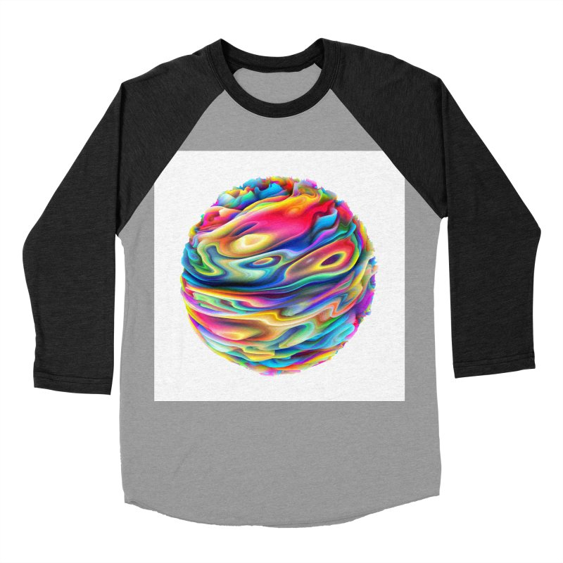 Chaos XII Men's Baseball Triblend T-Shirt by Abstract designs