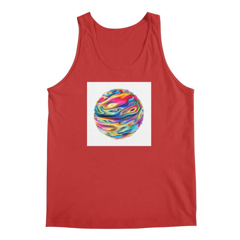 Chaos XII Men's Tank by Abstract designs