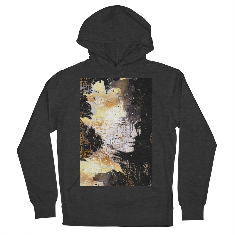 Typo face Women's Pullover Hoody by Abstract designs