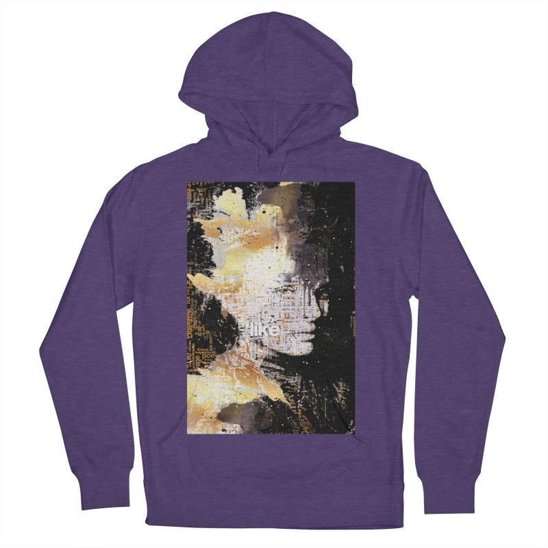 Typo face Men's Pullover Hoody by Abstract designs