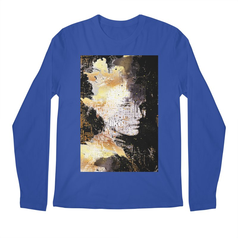 Typo face Men's Longsleeve T-Shirt by Abstract designs