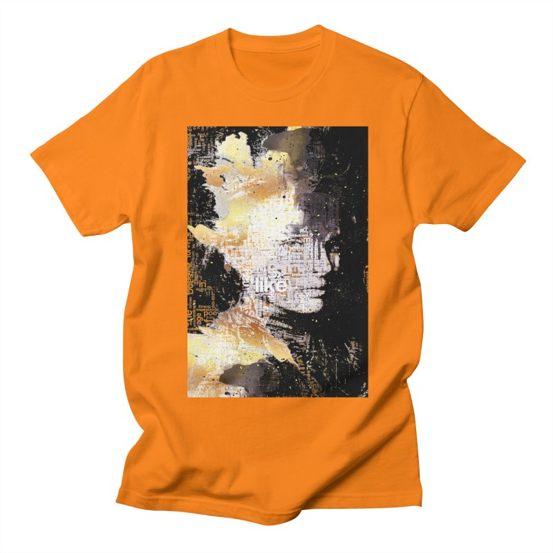 Typo face Men's T-Shirt by Abstract designs