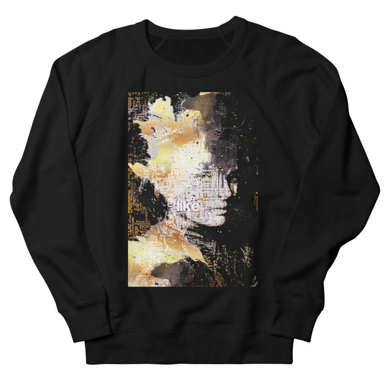 Typo face Women's Sweatshirt by Abstract designs