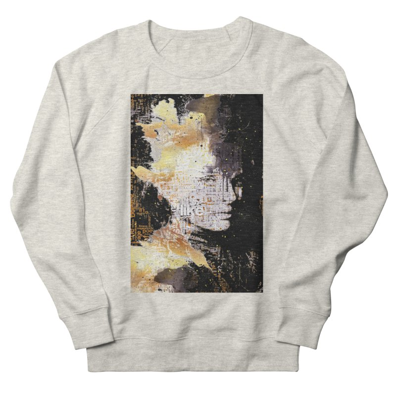 Typo face Men's Sweatshirt by Abstract designs