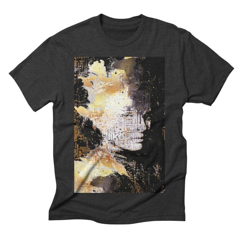 Typo face Men's Triblend T-shirt by Abstract designs
