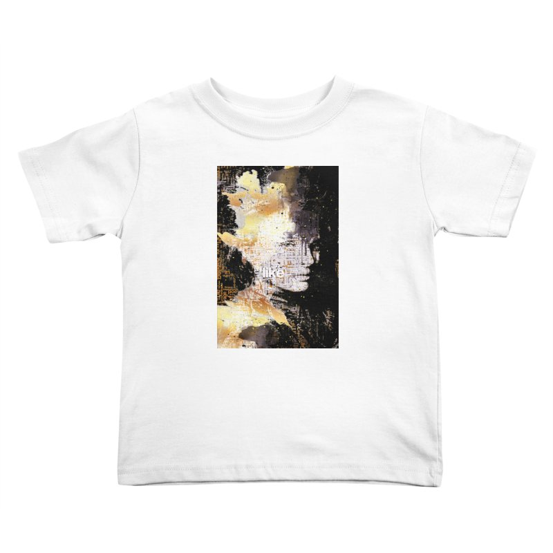 Typo face Kids Toddler T-Shirt by Abstract designs