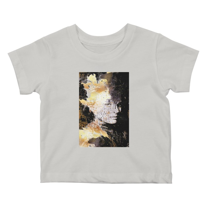 Typo face Kids Baby T-Shirt by Abstract designs
