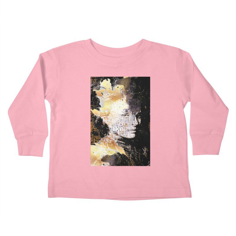 Typo face Kids Toddler Longsleeve T-Shirt by Abstract designs