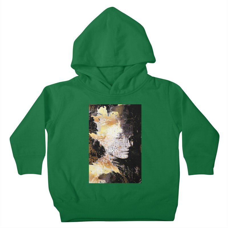 Typo face Kids Toddler Pullover Hoody by Abstract designs