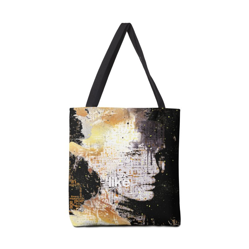 Typo face Accessories Bag by Abstract designs