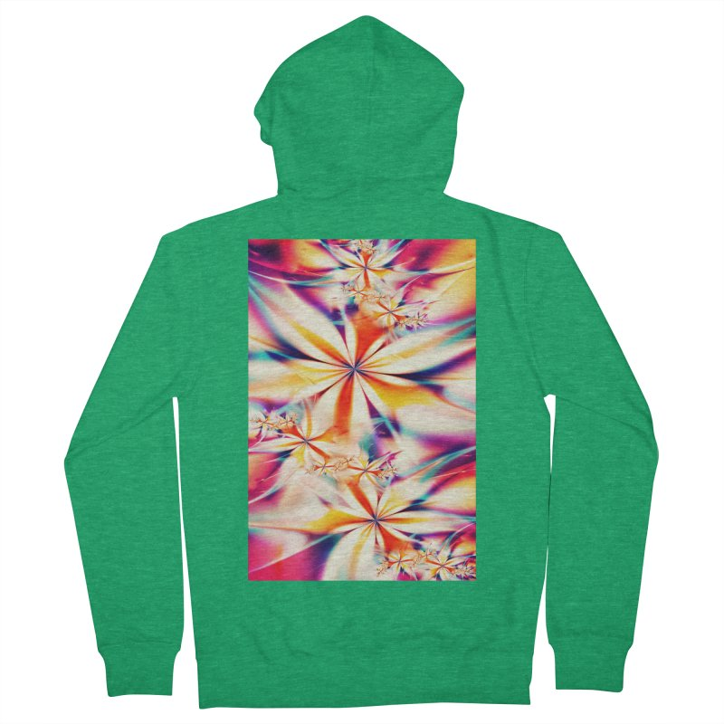 Fractal Art XX Women's Zip-Up Hoody by Abstract designs