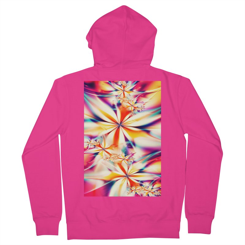 Fractal Art XX Men's Zip-Up Hoody by Abstract designs