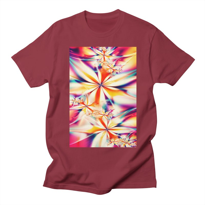 Fractal Art XX Men's T-Shirt by Abstract designs