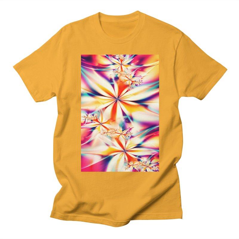 Fractal Art XX Men's T-shirt by Abstract designs