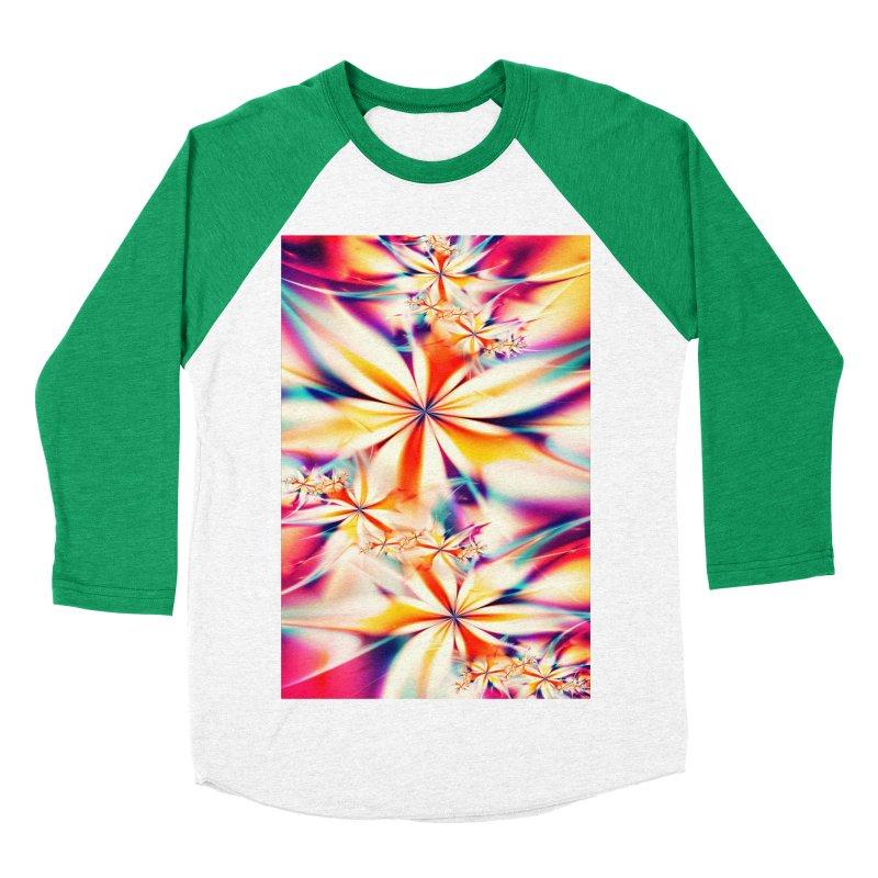 Fractal Art XX Women's Baseball Triblend T-Shirt by Abstract designs