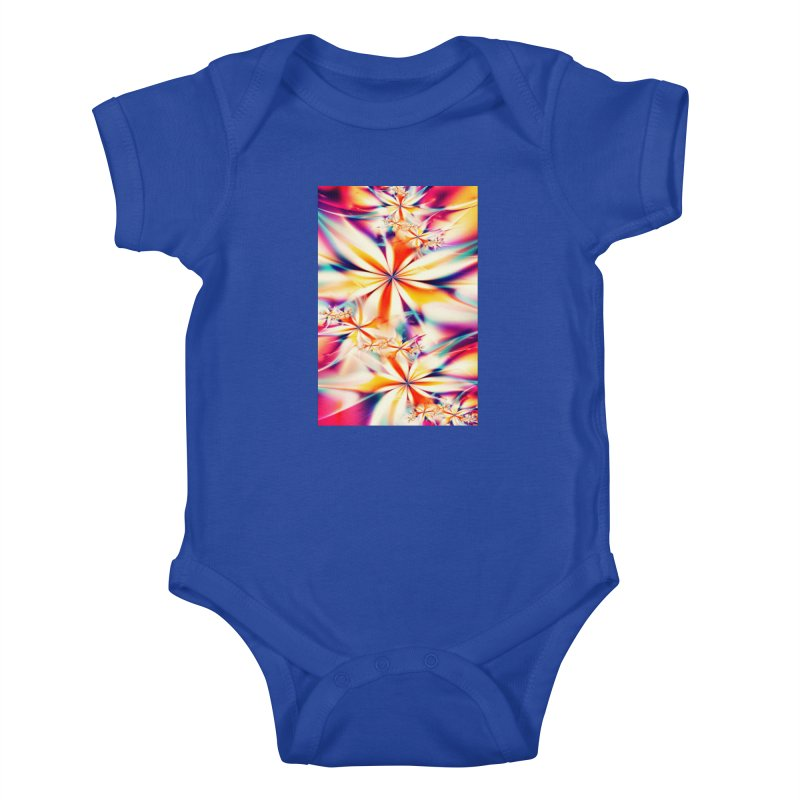 Fractal Art XX Kids Baby Bodysuit by Abstract designs