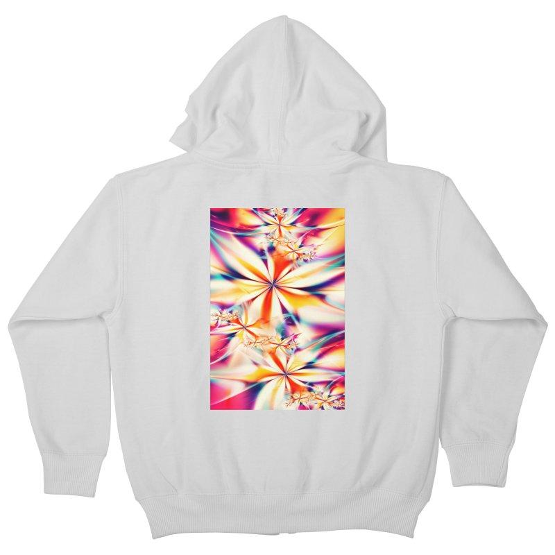 Fractal Art XX Kids Zip-Up Hoody by Abstract designs