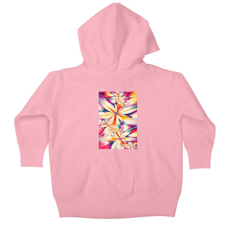 Fractal Art XX Kids Baby Zip-Up Hoody by Abstract designs