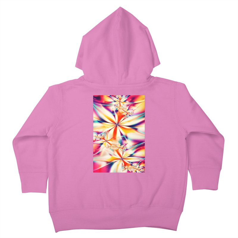 Fractal Art XX Kids Toddler Zip-Up Hoody by Abstract designs