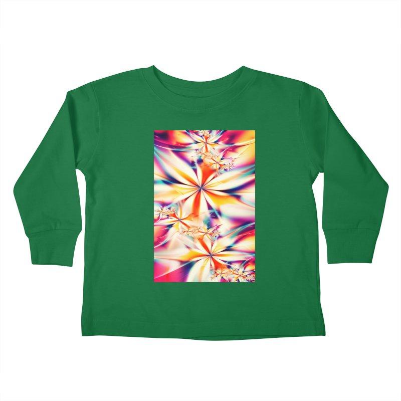Fractal Art XX Kids Toddler Longsleeve T-Shirt by Abstract designs