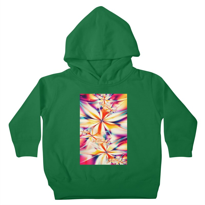 Fractal Art XX Kids Toddler Pullover Hoody by Abstract designs