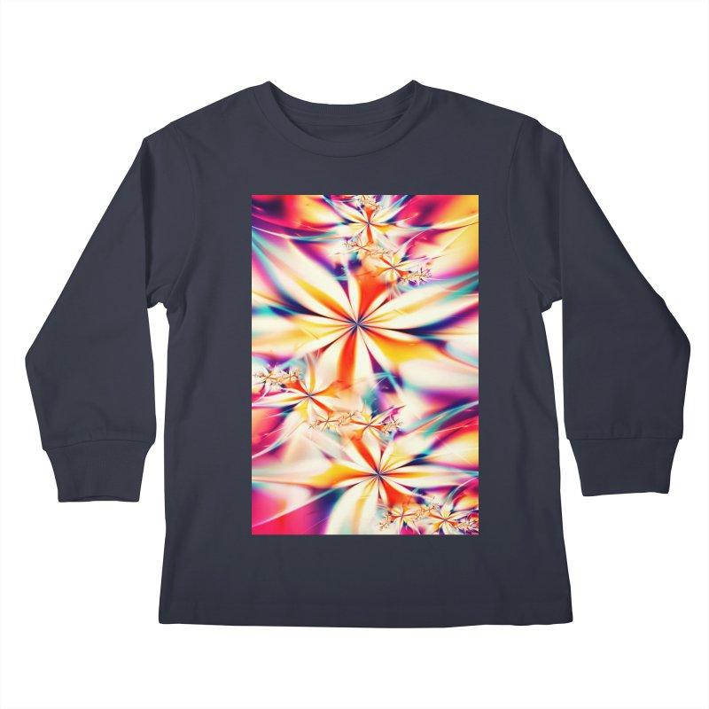 Fractal Art XX Kids Longsleeve T-Shirt by Abstract designs