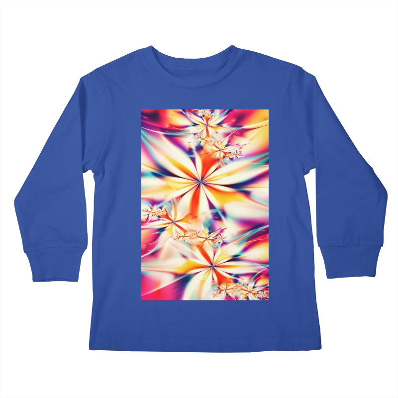 Fractal Art XX Kids Longsleeve T-Shirt by Abstract designs