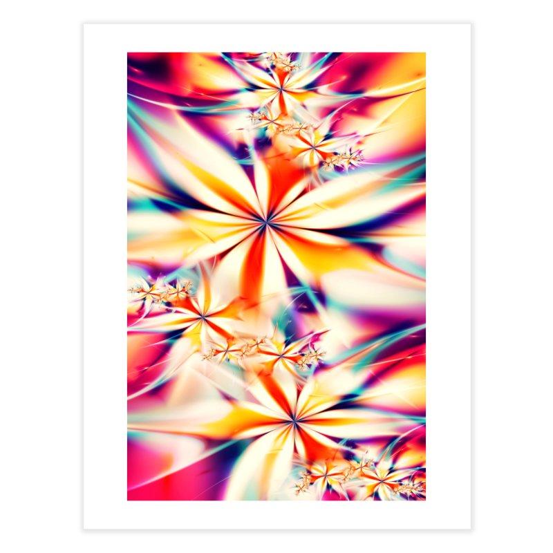 Fractal Art XX Home Fine Art Print by Abstract designs