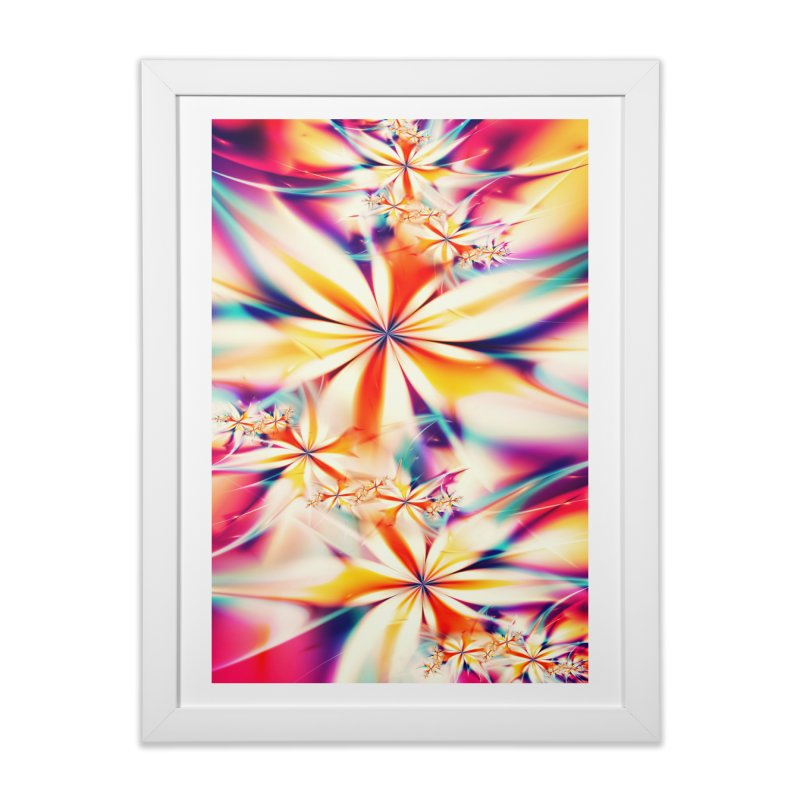 Fractal Art XX Home Framed Fine Art Print by Art Design Works
