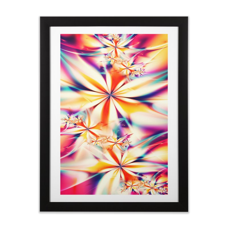 Fractal Art XX Home Framed Fine Art Print by Abstract designs