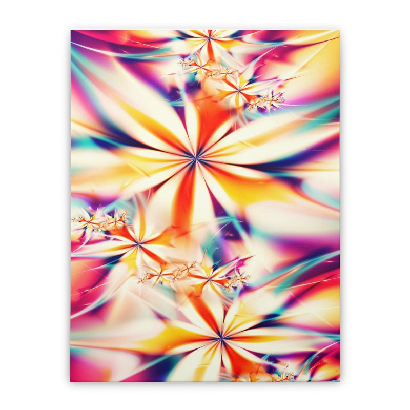 Fractal Art XX Home Stretched Canvas by Abstract designs
