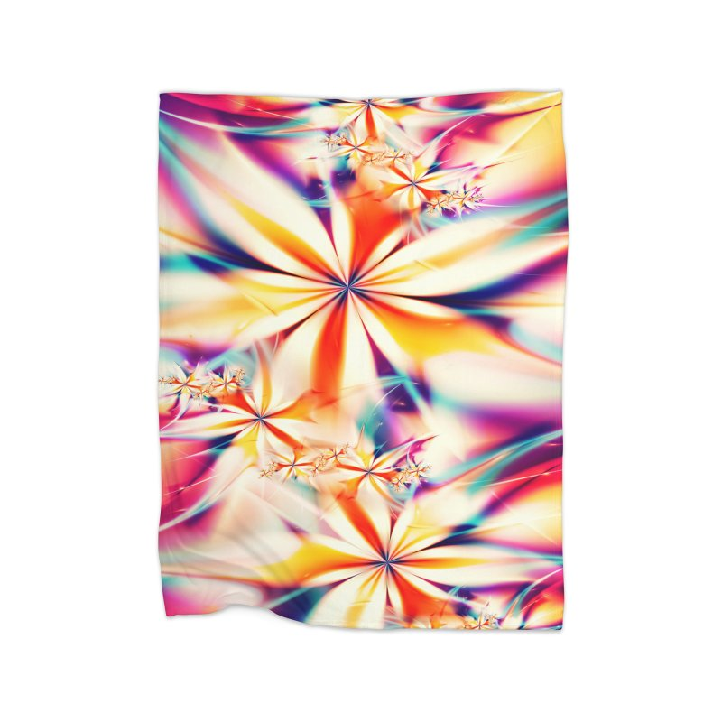 Fractal Art XX Home Blanket by Abstract designs