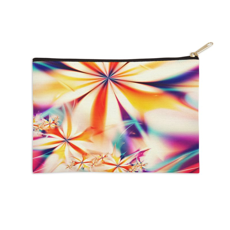 Fractal Art XX Accessories Zip Pouch by Abstract designs