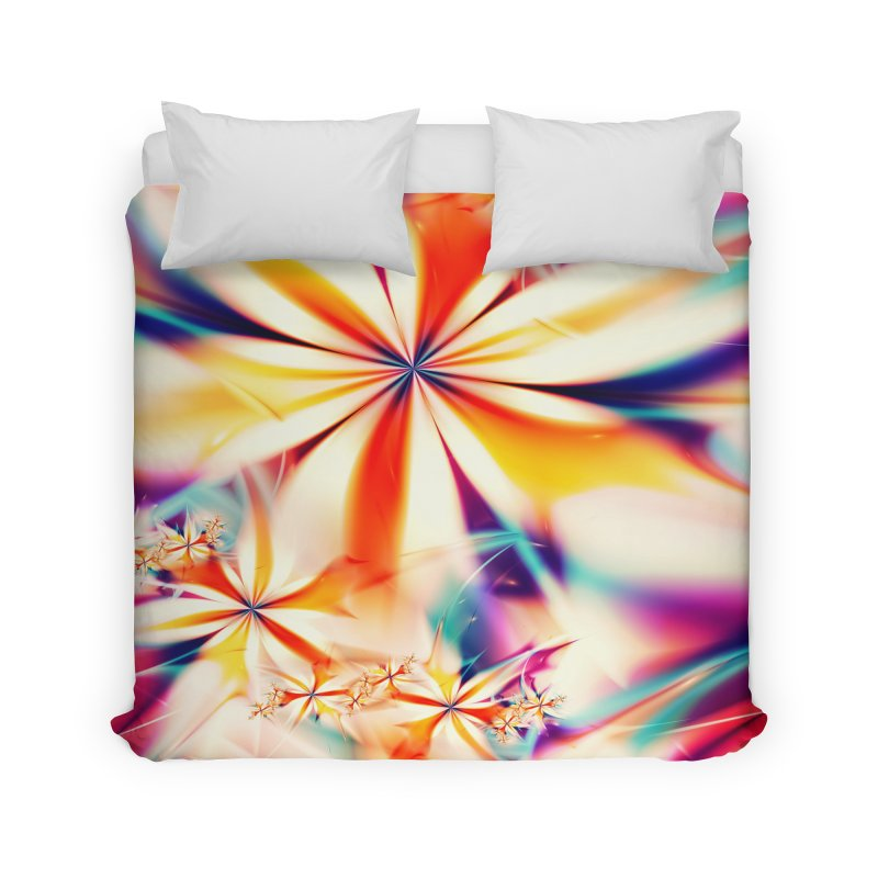 Fractal Art XX Home Duvet by Abstract designs
