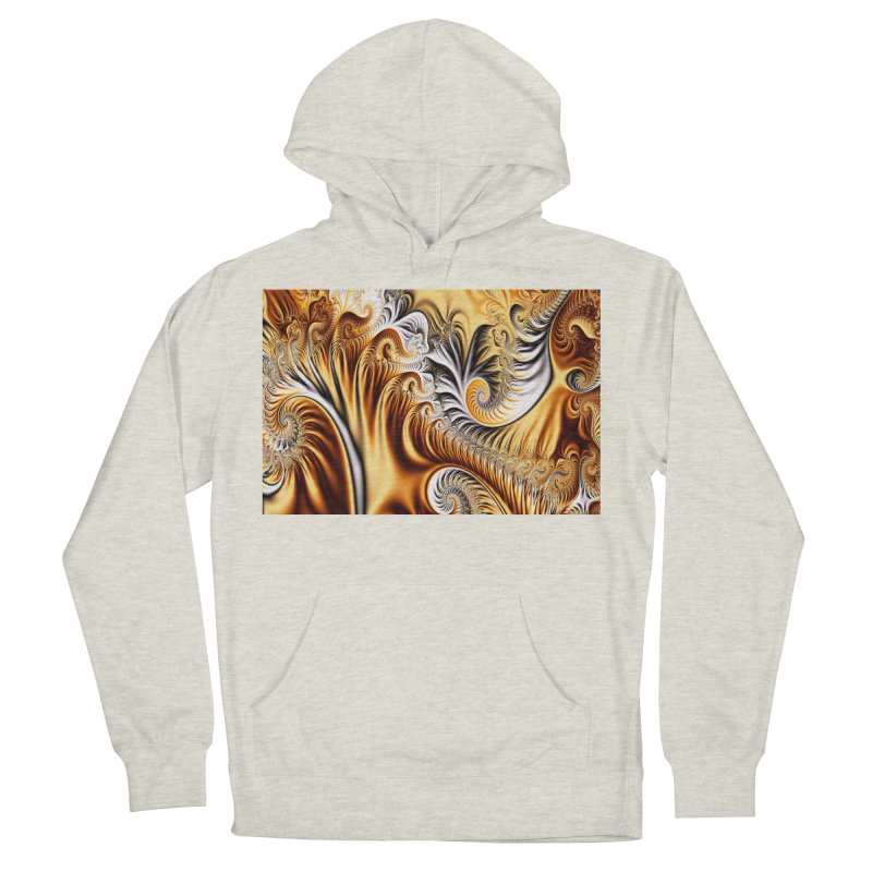 Fractal Art XXXIV Women's Pullover Hoody by Abstract designs