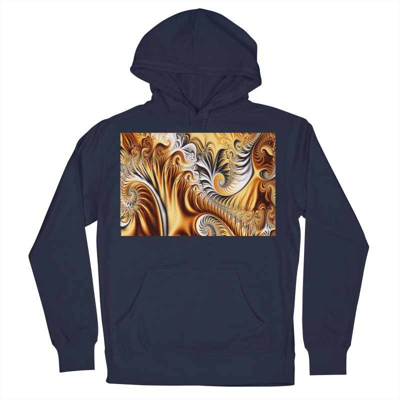 Fractal Art XXXIV Men's Pullover Hoody by Abstract designs