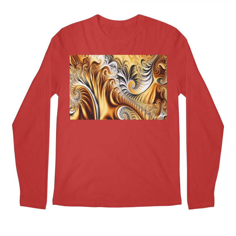 Fractal Art XXXIV Men's Longsleeve T-Shirt by Abstract designs