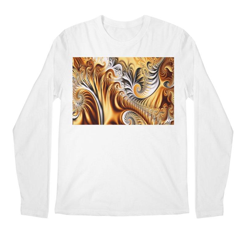 Fractal Art XXXIV Men's Longsleeve T-Shirt by Abstract designs