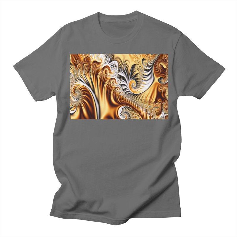 Fractal Art XXXIV Men's T-Shirt by Abstract designs
