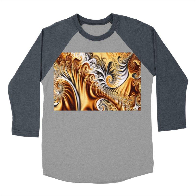 Fractal Art XXXIV Men's Baseball Triblend T-Shirt by Abstract designs