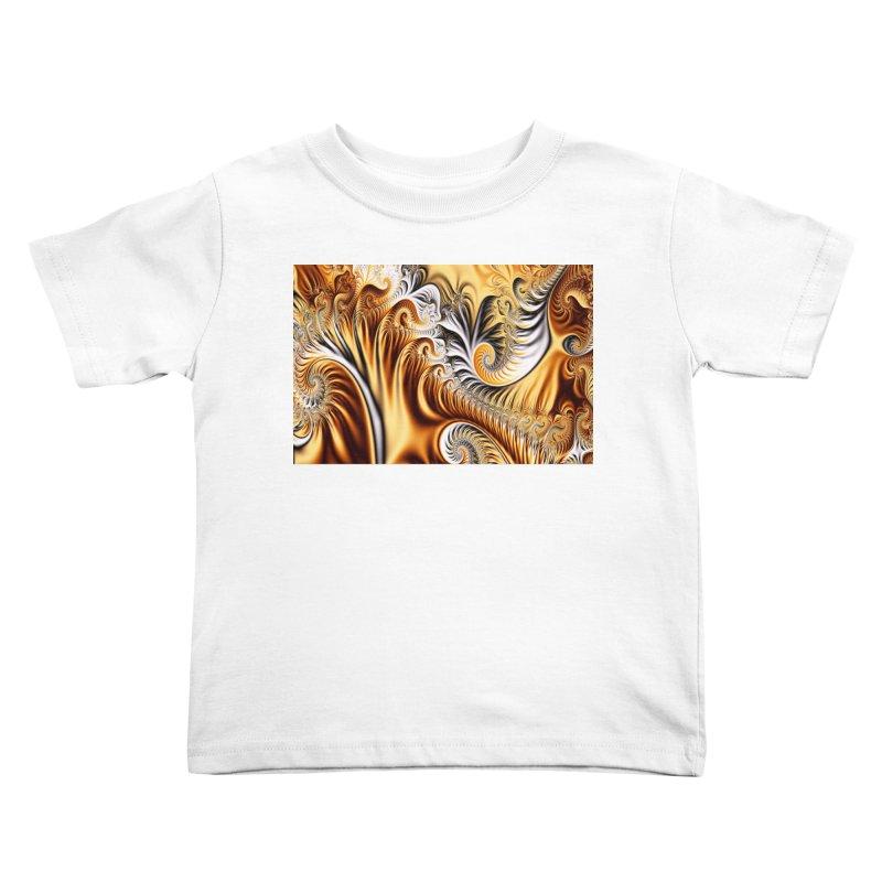 Fractal Art XXXIV Kids Toddler T-Shirt by Abstract designs