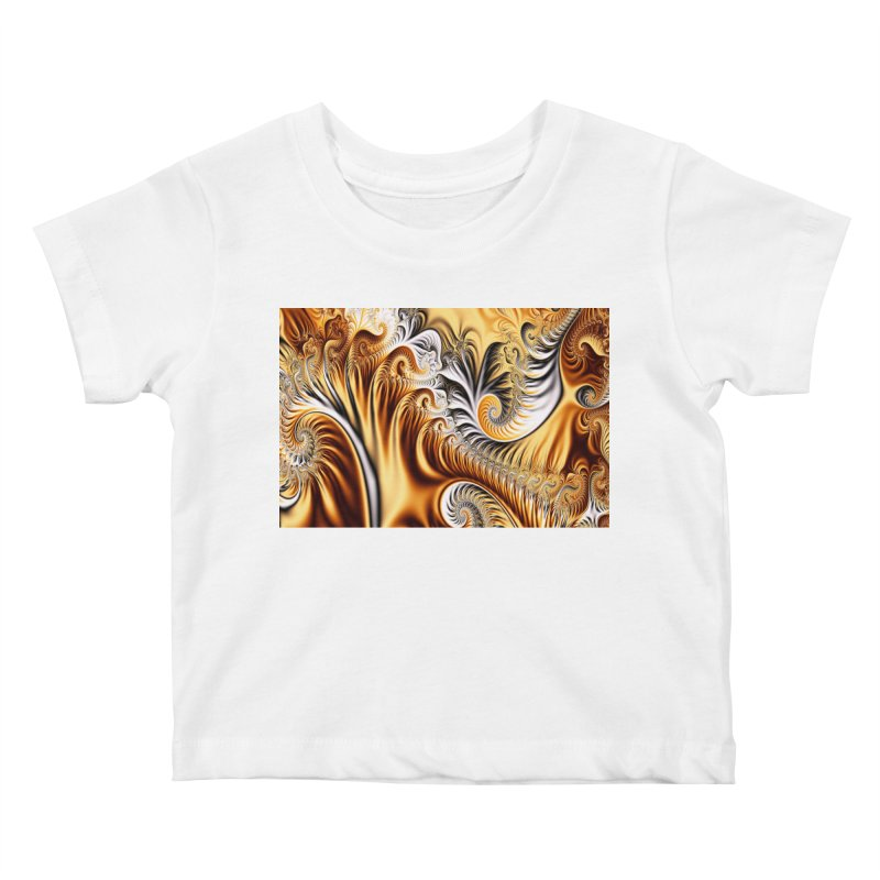 Fractal Art XXXIV Kids Baby T-Shirt by Abstract designs