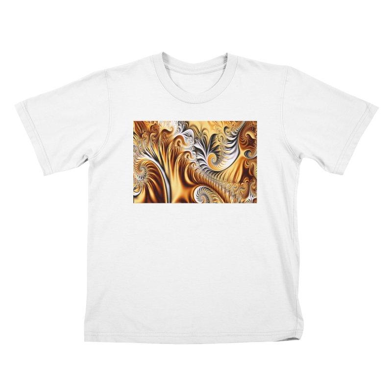 Fractal Art XXXIV Kids T-shirt by Abstract designs