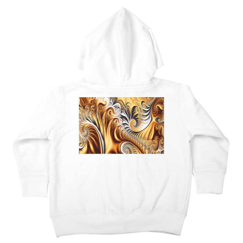 Fractal Art XXXIV Kids Toddler Zip-Up Hoody by Abstract designs