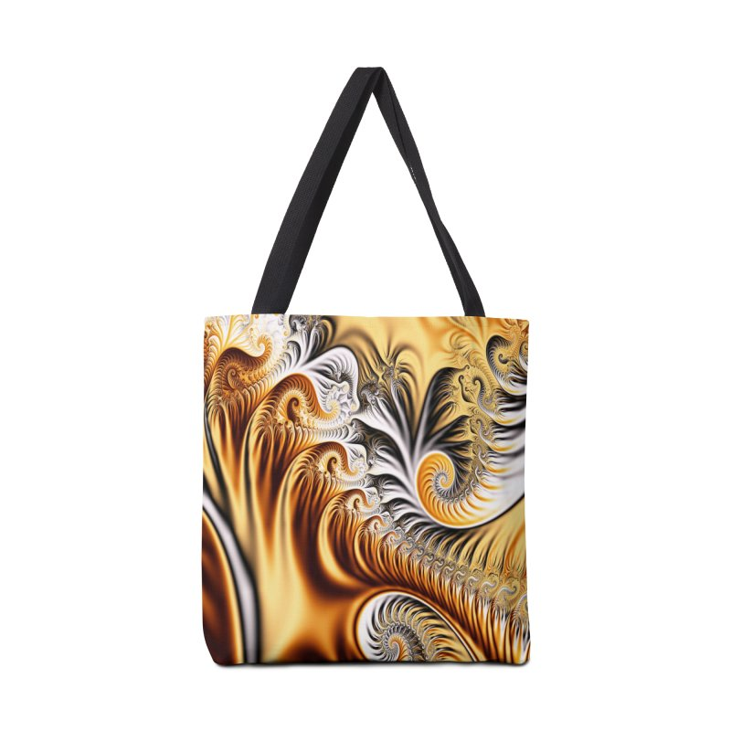 Fractal Art XXXIV Accessories Bag by Abstract designs