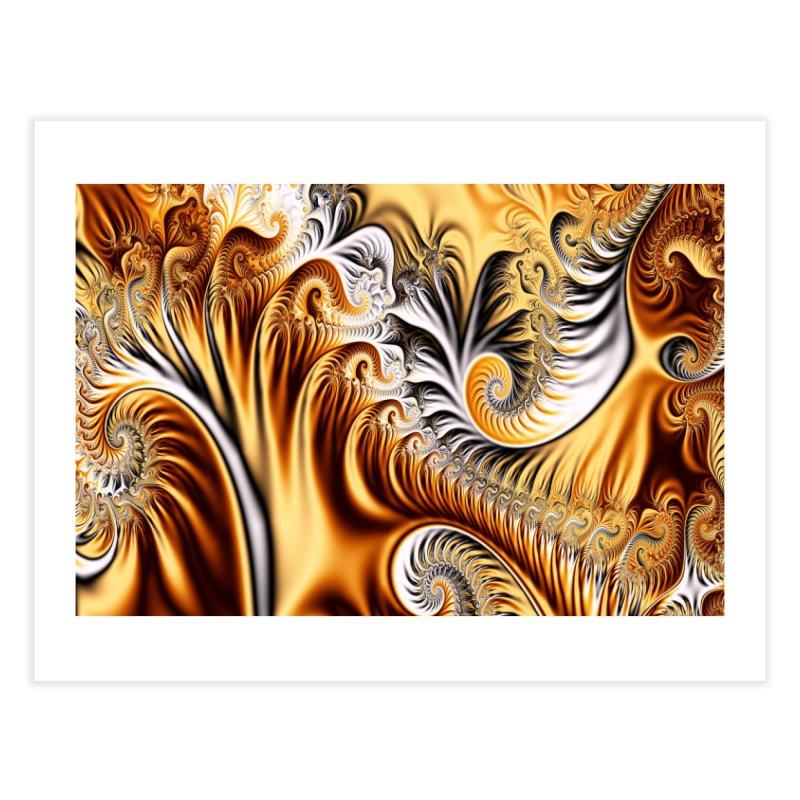 Fractal Art XXXIV Home Fine Art Print by Abstract designs